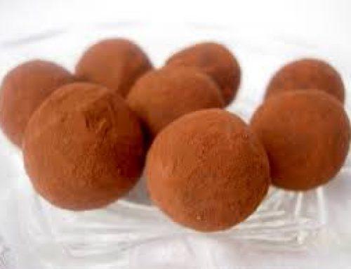 Chokladtryffel med smak av Baileys